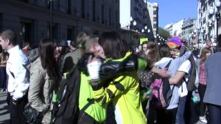 Moscow - Free Hugs