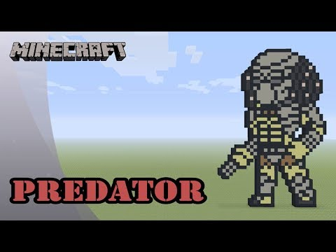 Minecraft: Pixel Art Tutorial: Predator