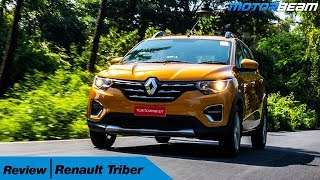 Renault Triber Review - Very VFM! | MotorBeam