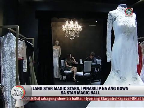Kapamilya beauties bare gowns for Star Magic Ball