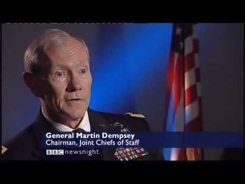 General Martin Dempsey Chairman of the Joint Chiefs with Paxman