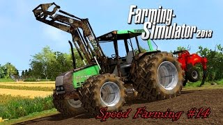 Farming Simulator 2013 - Speed Farming #14 - Plowing and Ploughing