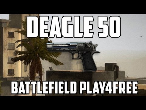 Battlefield Play4free Deagle 50 Gun Review