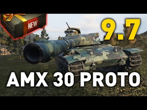 World of Tanks || AMX 30 1er Prototype - 9.7 Preview
