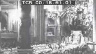 The Coronation of His Holiness Pius XII.