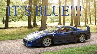 Why Is My Ferrari F40 Blue? London Drive