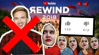 ALASAN YOUTUBE REWIND 2018 DISLIKE SAMPE 4 JUTA !!? - Reaction