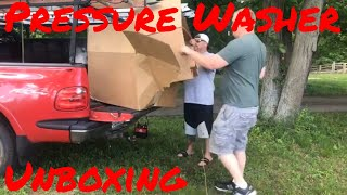 Pressure Washer Pickup Fun And Unboxing