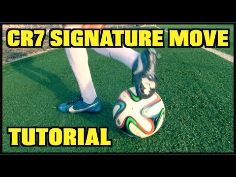 Learn AMAZING Skills #5: Cristiano Ronaldo Signature Move   CR7 Skill Tutorial   by 10BRA