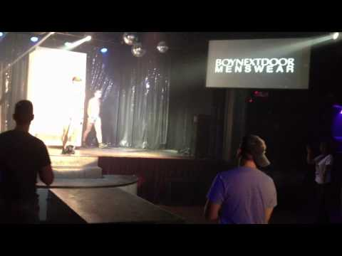 Boy Next Door Menswear Underwear Fashion Show For Spark! video