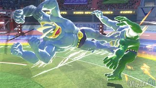 Pokkén Tournament DX - All Grab Attacks