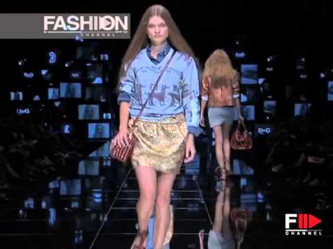 D&G S/S 2008 - youtube