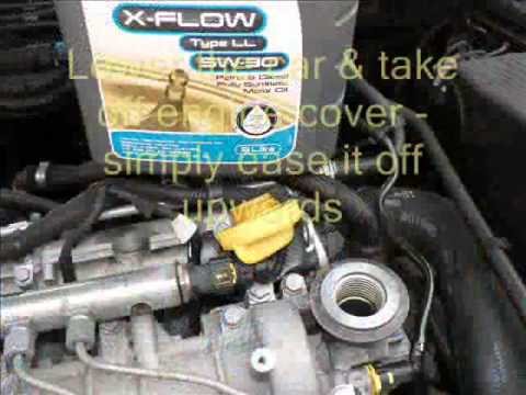 Vectra C Oil Change CDTi 150 Diesel plus Service Indicator reset