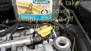 Vectra C Oil Change CDTi 150 Diesel plus Service Indicator reset