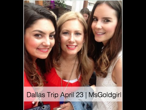 Travelling to Dallas & Hotel Tour April 23   MsGoldgirl
