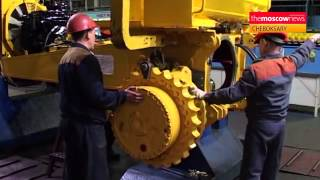 Russian bulldozer manufacturer making the grade