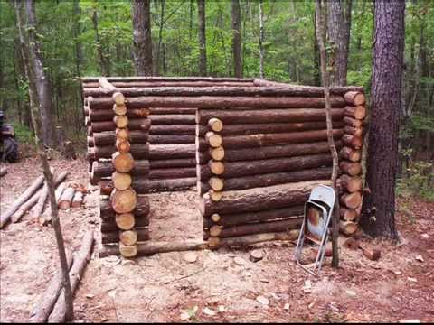 Small log cabin construction youtube Being your own contractor building home