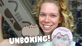 PUSHEEN CAT MYSTERY BOX!