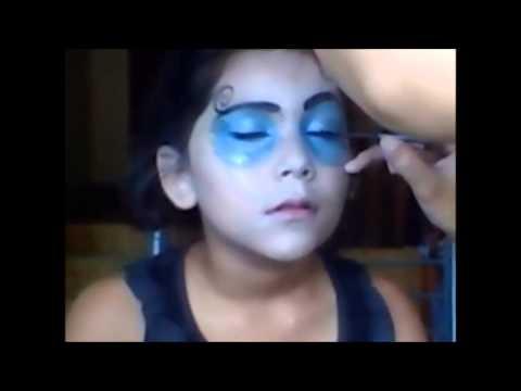 Maquillaje de Skelita Calavera