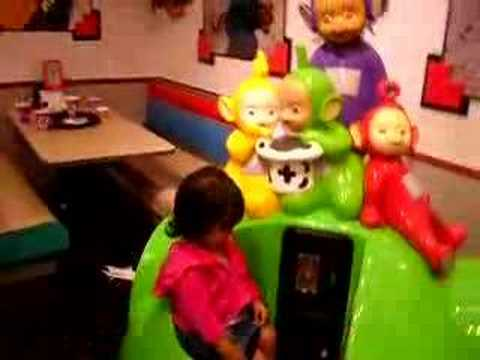 Pin Chuck E. Cheese Teletubbies Images to Pinterest