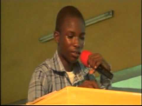 Ogenetega Samuel Emmanuel 14 yrs Old Boy with great revelation from Jesus.