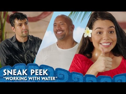 """Working With Water"" Sneak Peek - Behind The Scenes of Moana"