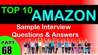 AMAZON Top most interview questions and answers for freshers / experienced tips online videos