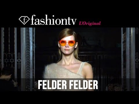 Felder Felder Fall winter 2014-15 | London Fashion Week Lfw | Fashiontv video