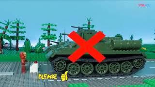 Các bé cùng đoán hình và ghép xe tăng nào