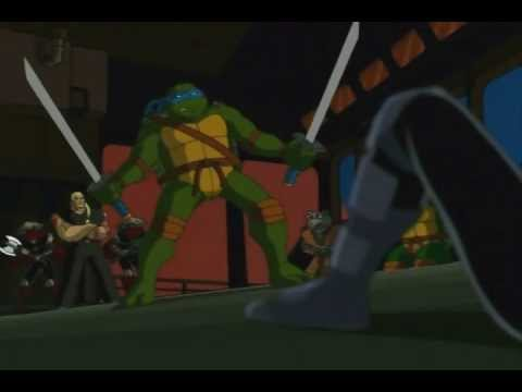 Teenage Mutant Ninja Turtles - Leonardo vs Karai (Rescore)