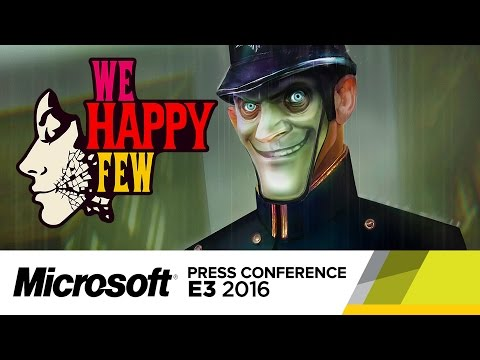We Happy Few - Official E3 2016 Gameplay Trailer