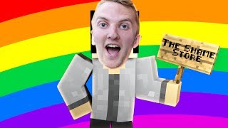 Minecraft Do Not Laugh - REALLY REALISTIC MINECRAFT! THE SHAME STORE?! | Minecraft Roleplay