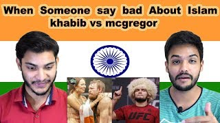 Indian reaction on Muslim Fighter khabib vs Mcgregor | UFC | Swaggy d