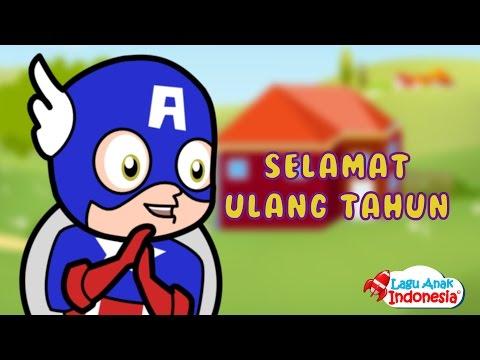 Marvel Civil War Lagu Selamat Ulang Tahun | Lagu Anak Anak Terpopuler | Lagu Anak Indonesia