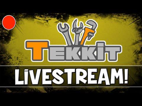 LIVE! - MineCraft Tekkit!