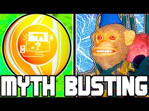 DOUBLE UPGRADED MONKEY!!! | CALL OF DUTY ZOMBIES | MYTH BUSTING MONDAYS #111