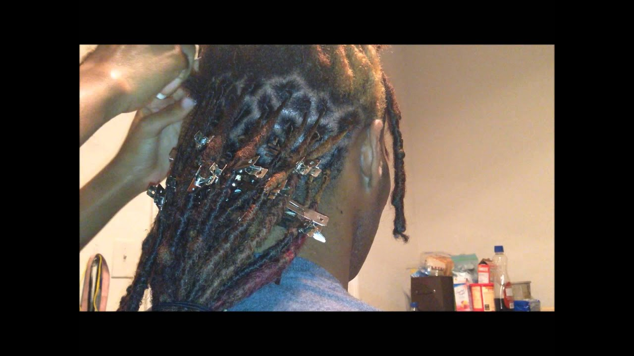 How to Retwist Dreads images