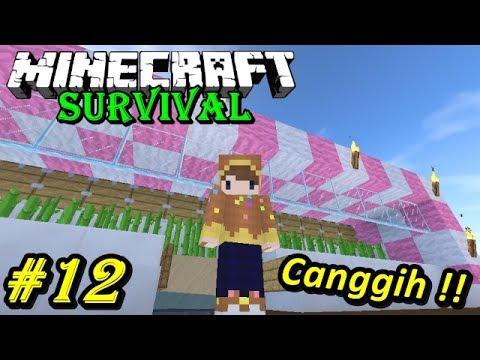 MESIN PABRIK GULA PERTAMA DI INDONESIA - Minecraft Survival #12