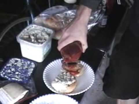 Chef Delmoko makes a Parma Sausage Sandwich Video