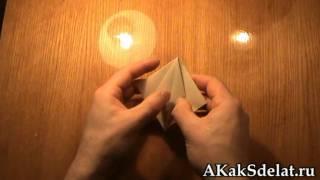 Как из бумаги сделать сердце