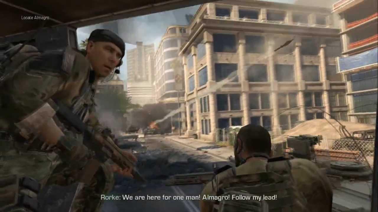Call of duty ghosts rorke dies