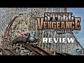 Steel Vengeance Review Cedar Point RMC Hybrid Former Mean Streak Roller Coaster