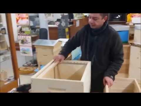 Comment monter une ruche dadant avec fond plastique anti - Comment fabriquer une ruche ...