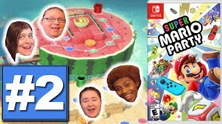 Team Super Mario Party #2 {4 Player 15 Turn} -- Snap Into A Cherry