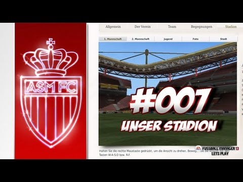 AS MONACO - Fussball Manager 13 Lets Play #007 - Heimspiel in Monaco | ᴴᴰ