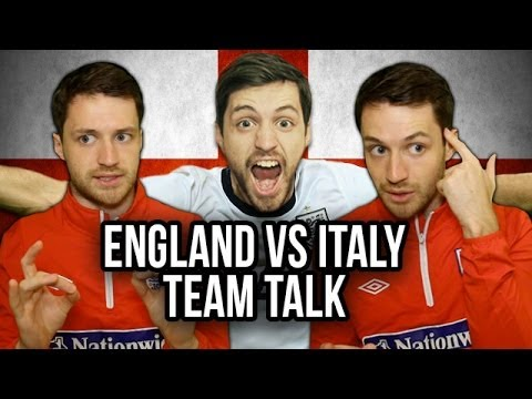 World Cup Team Talk | England vs Italy
