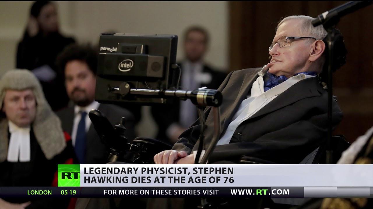Stephen Hawking dies at the age of 76