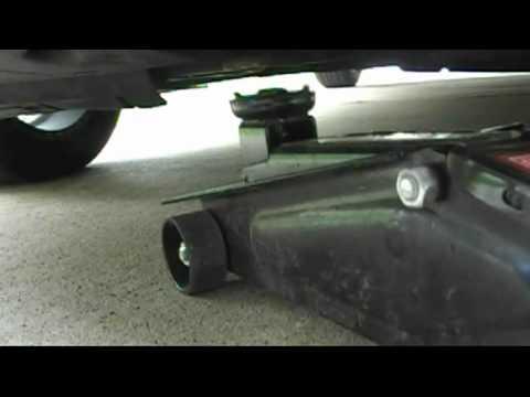 08 Sonata v6 oil change part 1 drain