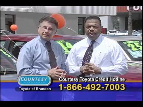 Joe Courrege Introduces Courtesy Toyota of Brandon, Florida