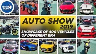 Auto Show 2019 at BKC, Mumbai - Showcase of 400 Vehicles Of Different Era